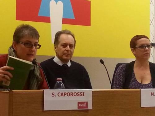 Da sinistra, Sonia Caporossi, Marco Saya, Antonella Pierangeli